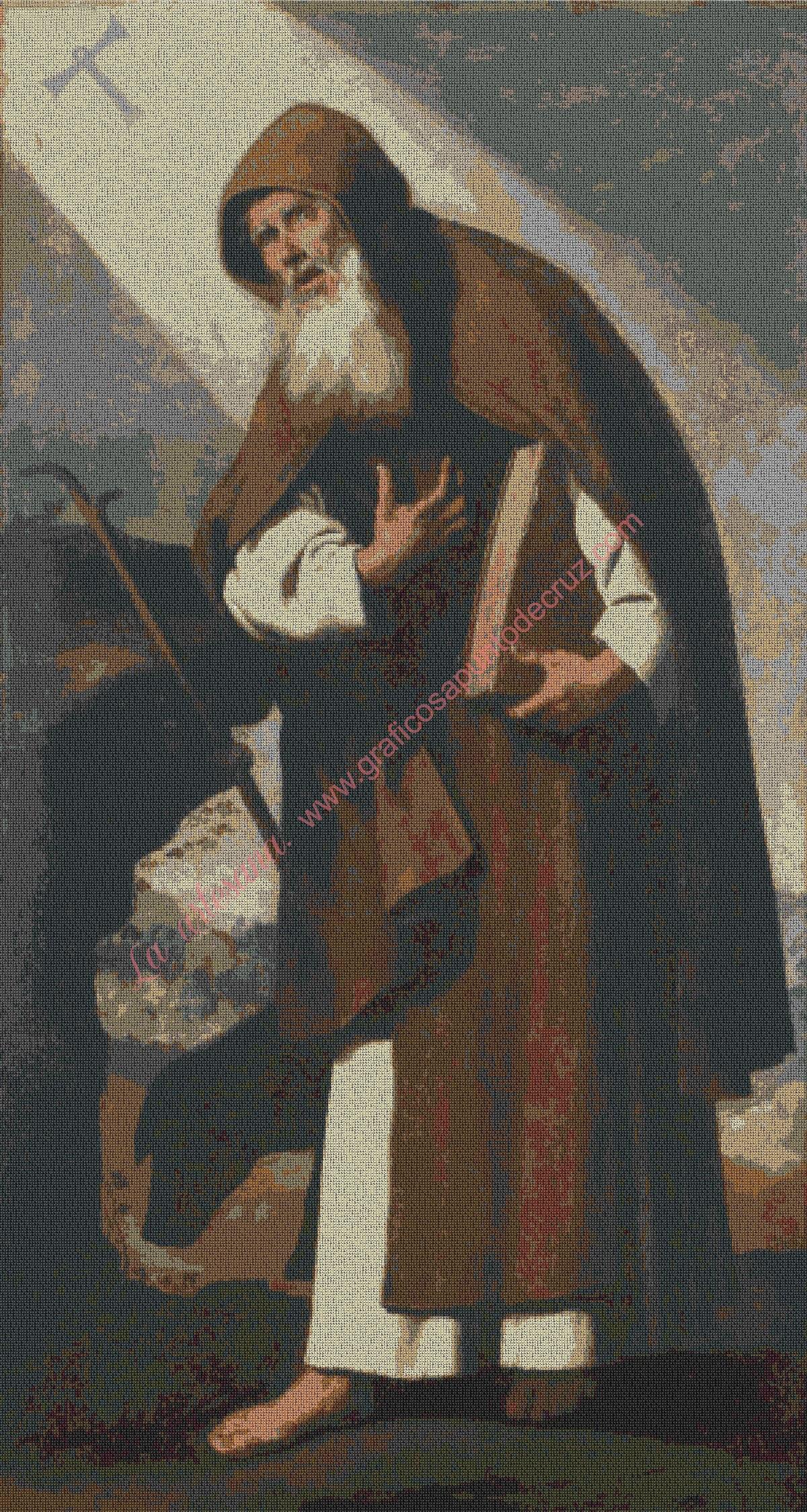 Sant Antonio Abad de Zurbarán
