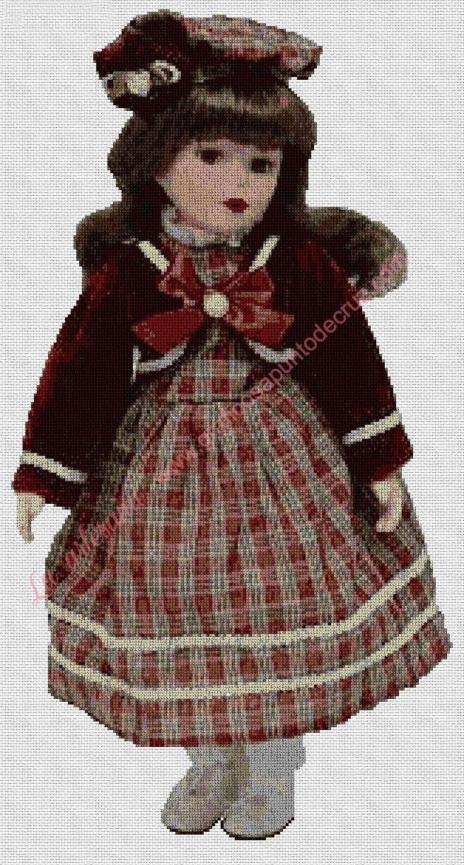Muñeca con chaquetilla corta