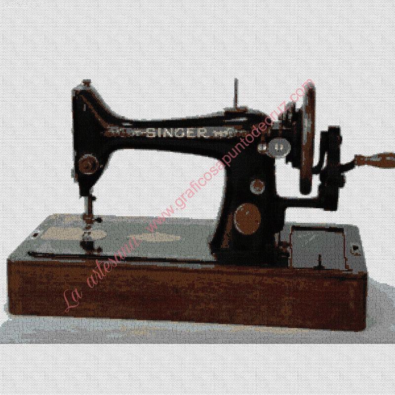 Máquina de coser de sobremesa