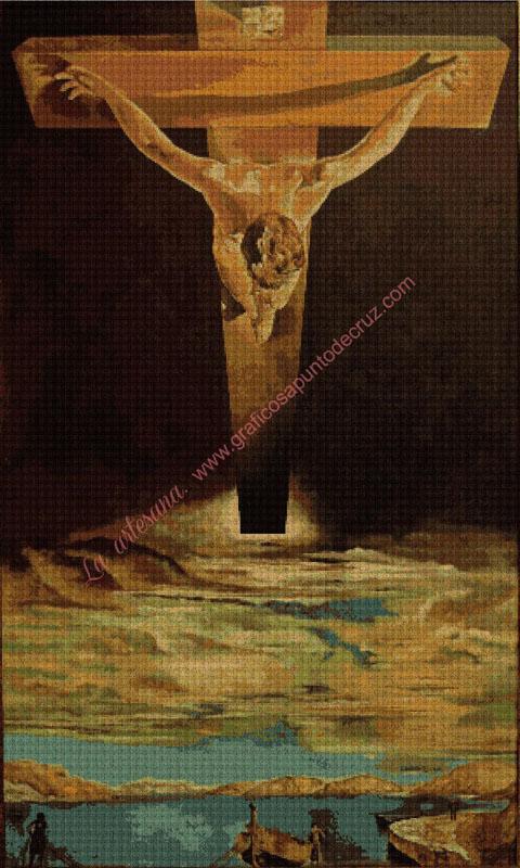 Cristo de San juan de la Cruz de Dalí