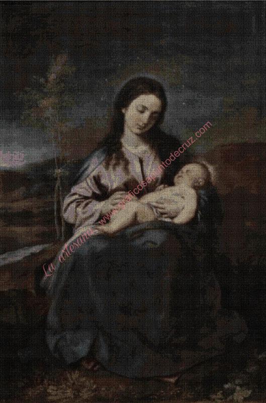 La Virgen y el Niño de Alonso Cano