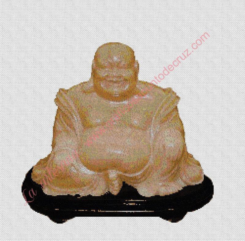 Buda feliz 45 x 44 cm