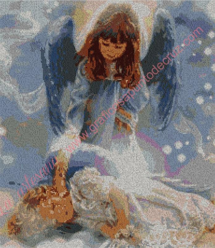 Ángel Cuidando a un niño