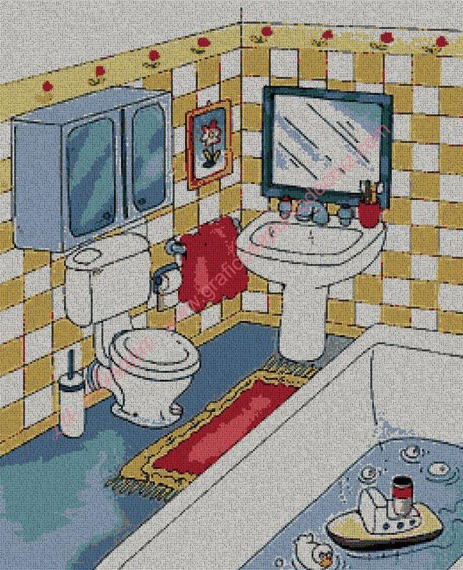 Dibujo Baño