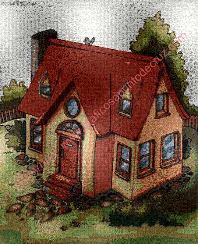 Dibujo casita