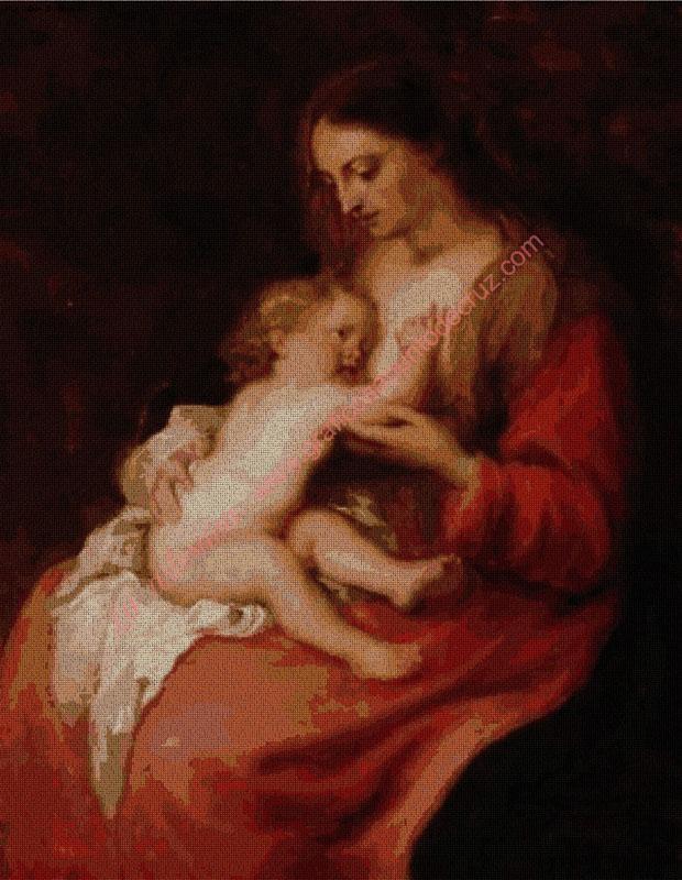Madre e hijo  de Van Dyck
