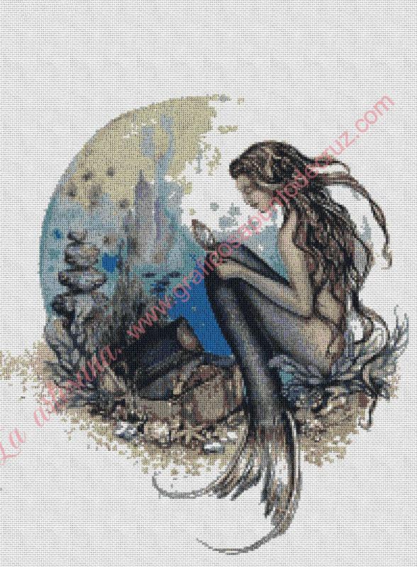 Sirena con tesoro