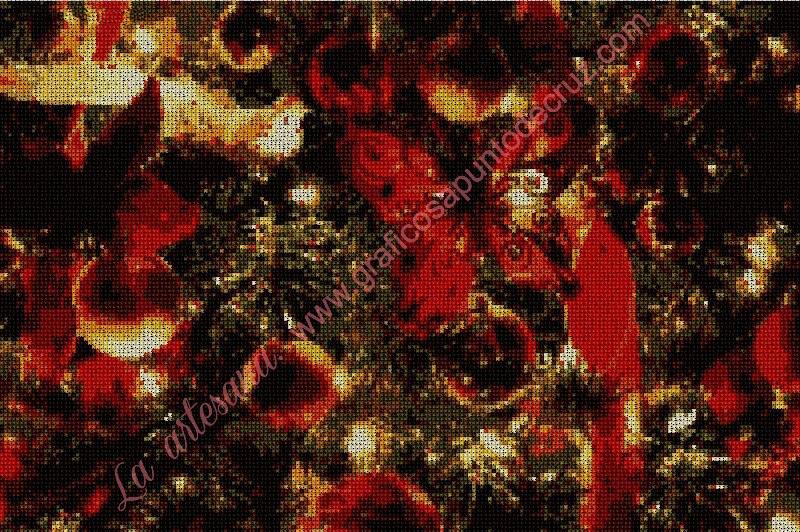 Adorno de Navidad en el árbol