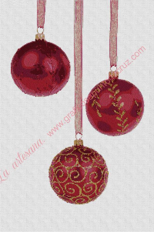 Adorno de Navidad de bolas labradas