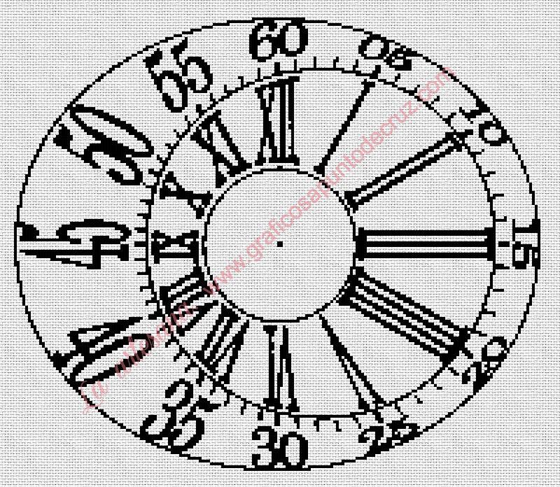 Reloj con segundero