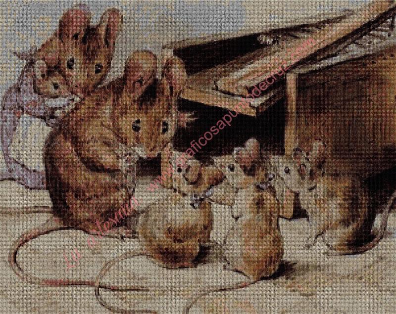 Familia de Ratoncitos