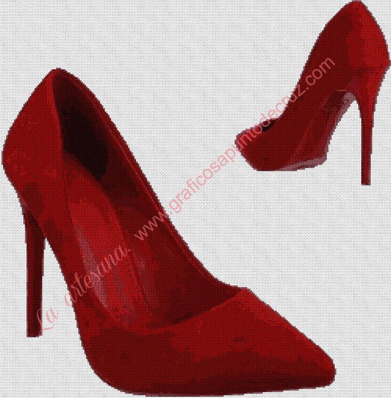 Zapatos de salón rojos